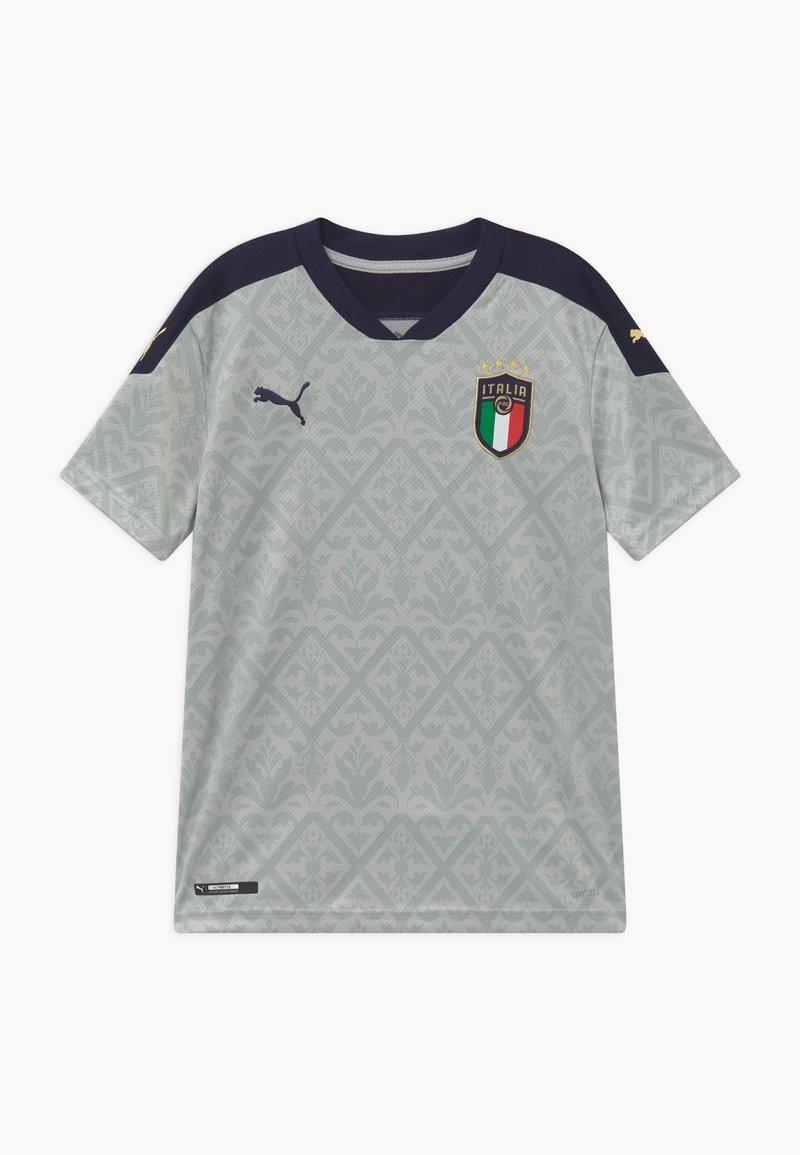 Puma - ITALIEN FIGC REPLICA - Club wear - gray violet/peacoat
