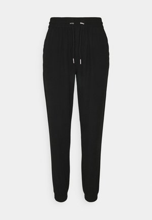 ONLKELDA EMERY PULL UP PANTS - Trousers - black