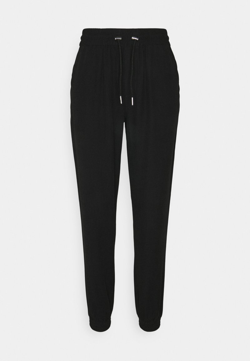 ONLY Tall - ONLKELDA EMERY PULL UP PANTS - Trousers - black