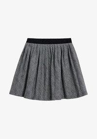 Mango - PLISADA - A-line skirt - czarny - 0