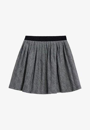 PLISADA - A-line skirt - czarny