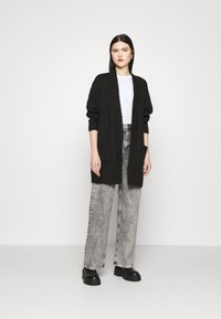 Vero Moda - VMKAKA OPEN COATIGAN  - Cardigan - black - 1