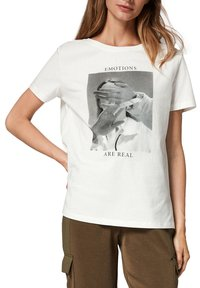 comma casual identity - MIT FOTOPRINT - Print T-shirt - white placed print - 5