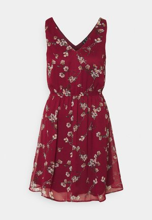 VMWONDA NEW SINGLET SHORT DRESS - Day dress - tibetan red/eliza