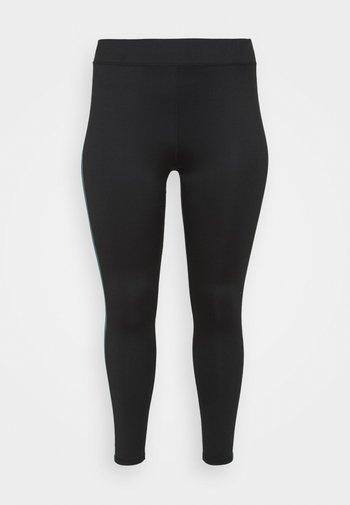 ONPFEI LIFE CURVY - Leggings - black/balsam