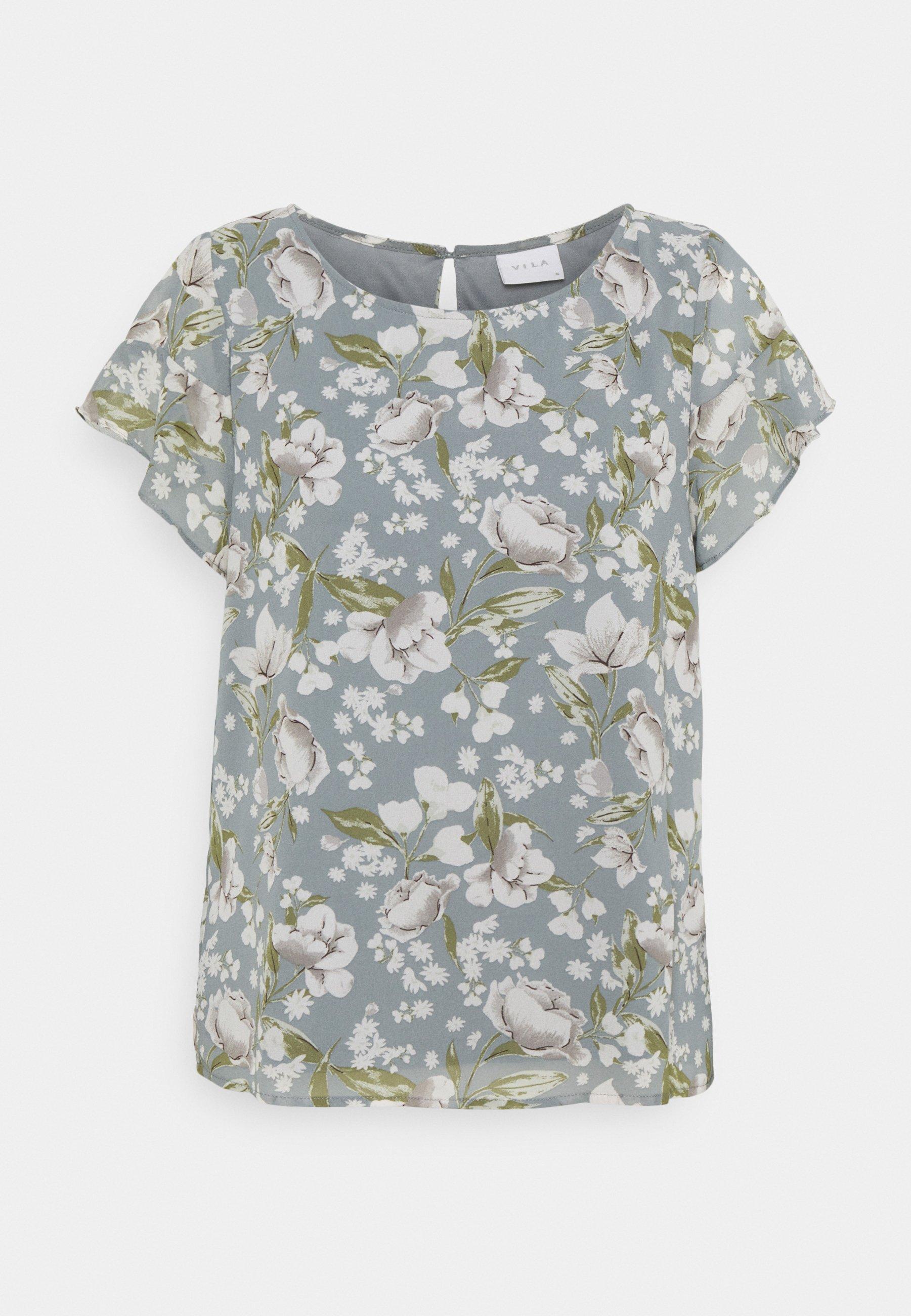 Femme VIMILINA FLOWER - T-shirt imprimé