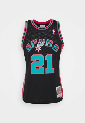 NBA SAN ANTONIE SPURS RELOAD SWINGMAN TIM DUNCAN - Club wear - black