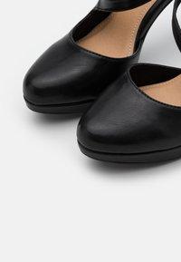s.Oliver - High heels - black - 5