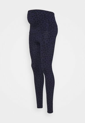 LEGGINGS MATERNITY LEO - Trikoot - blue