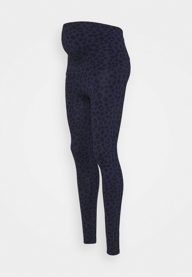 LEGGINGS MATERNITY LEO - Collant - blue