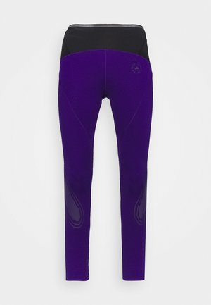 TRUEPACE - Leggings - collegiate purple/black