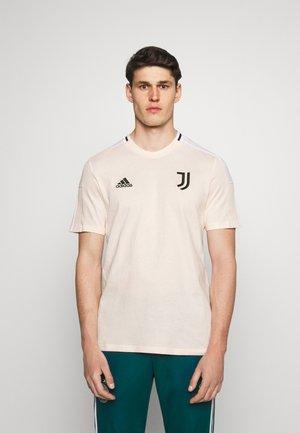JUVENTUS TURIN TEE - Klubbkläder - pink tint/black