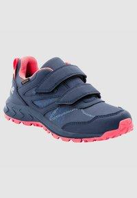 Jack Wolfskin - Walking shoes - dark blue / rose - 1