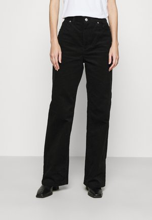 YOKO TROUSERS - Trousers - black dark