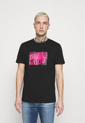 T-DIEGOS-K16 UNISEX - Camiseta estampada - black
