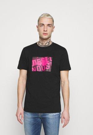 T-DIEGOS-K16 UNISEX - Print T-shirt - black