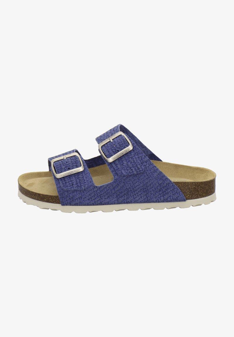 AFS Schuhe - ZWEISCHNALLER - Slippers - jeans