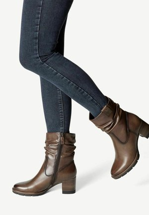 Classic ankle boots - cafe