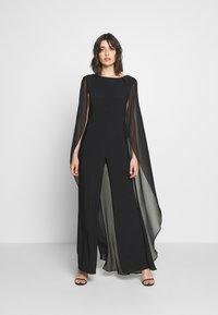 Lauren Ralph Lauren - CLASSIC COMBO - Jumpsuit - black - 0