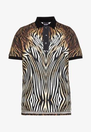 ANIMAL PRINT  - Polo shirt - black/beige