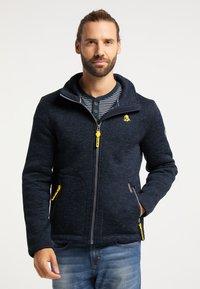 Schmuddelwedda - Light jacket - dunkelmarine melange - 0