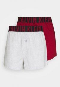Calvin Klein Underwear - INTENSE POWER 2 PACK - Boxer shorts - grey/red - 4