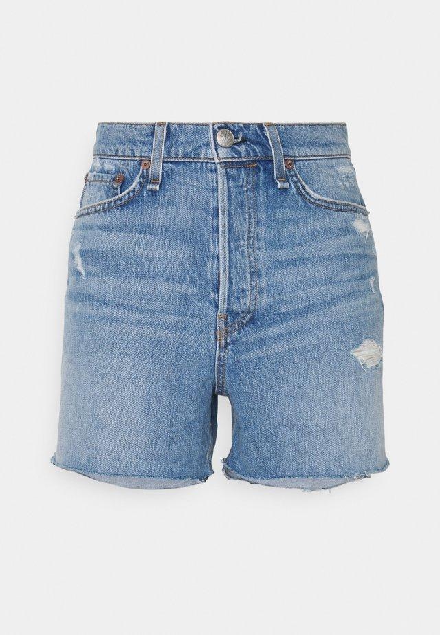 MAYA HIGH RISE WHITE LABEL - Denim shorts - jones