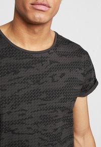 G-Star - VONTONI RELAXED - Print T-shirt - raven/dark black - 3