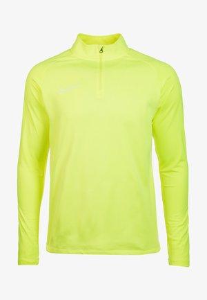 DRY ACADEMY - Koszulka sportowa - neon yellow