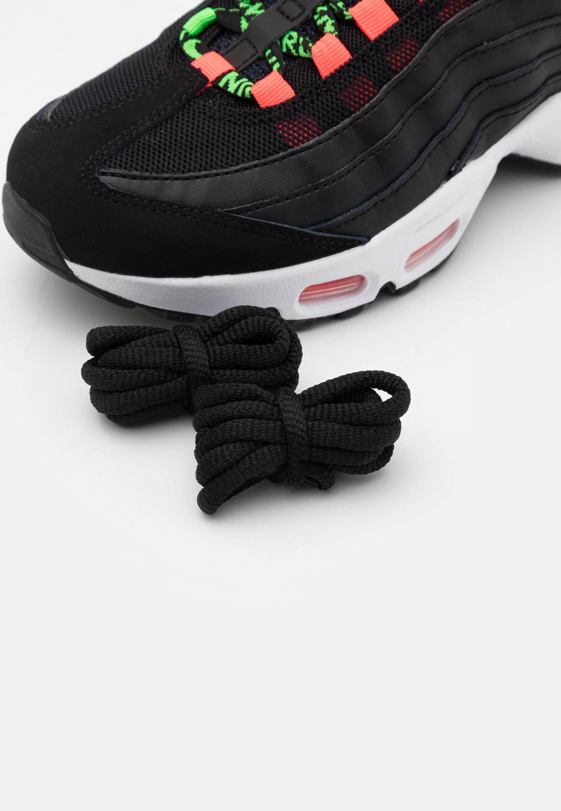 AIR MAX 95 - Sneakers laag - black/green strike/flash crimson/white