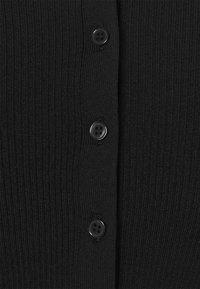 Weekday - PALOMA HOOD  - Cardigan - black - 6