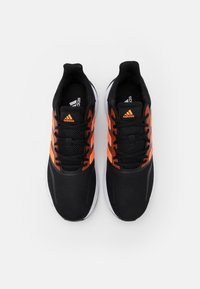 adidas Performance - RUNFALCON - Neutral running shoes - core black/signal orange/footwear white - 3