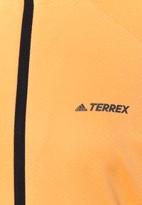 adidas Performance - MULTI FULL ZIP - Fleecejakker - hazy orange - 2