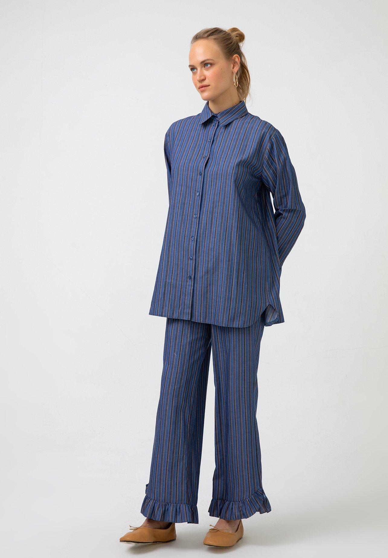Femme Chemisier - blue