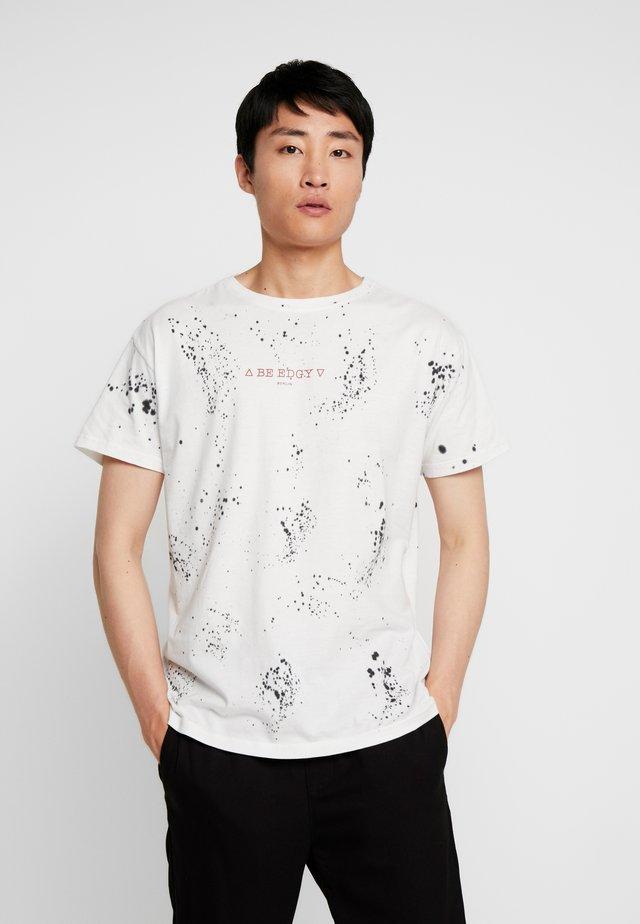 JENKINS - T-shirt z nadrukiem - white