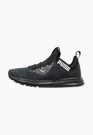 ENZO BETA WOVEN - Neutral running shoes - black/asphalt