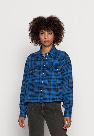 WESTERN UTILITY - Long sleeved top - wrangler blue