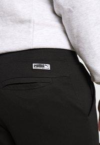 Puma Golf - TARMAC JOGGER - Spodnie materiałowe - puma black - 4