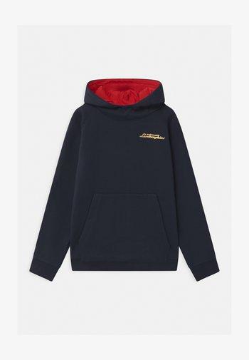SHIELD TAPE HOODED  - Sweatshirt - blue hera