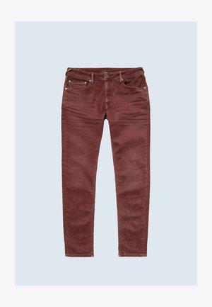Slim fit jeans - auburn