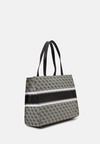 Guess - HANDBAG MONIQUE TOTE - Shopping bag - coal - 1