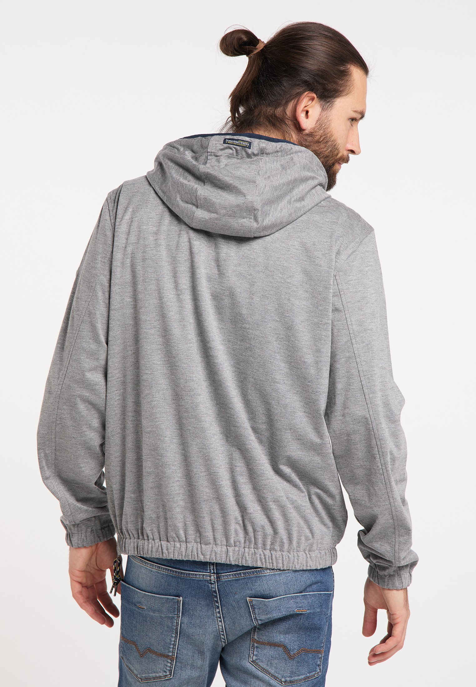 Schmuddelwedda Regenjacke / Wasserabweisende Jacke - Grau Melange