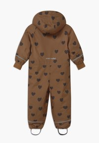 Mini Rodini - KEBNEKAISE HEARTS - Snowsuit - brown - 2