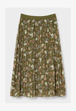 ROCK - RECYCELT - A-line skirt - khaki