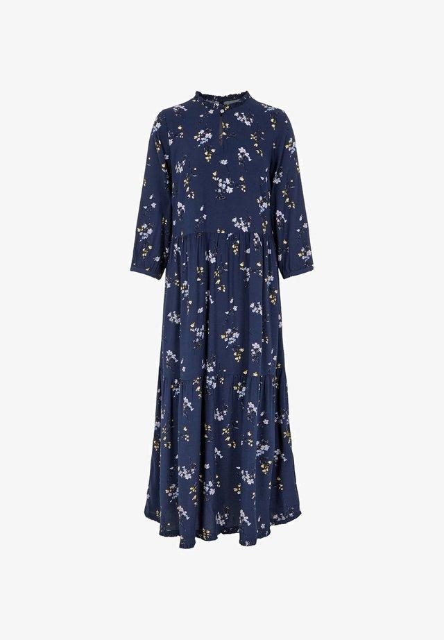 YASPLEANA SPRING - Maxi dress - navy blazer