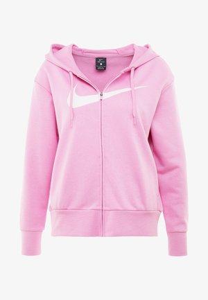 W NK DRY GET FIT FC FZ H ES GX - veste en sweat zippée - magic flamingo/barely rose