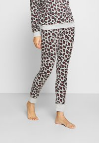 Hunkemöller - LEGGING LEOPARD - Pyjama bottoms - grey - 0