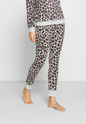 LEGGING LEOPARD - Pyjama bottoms - grey