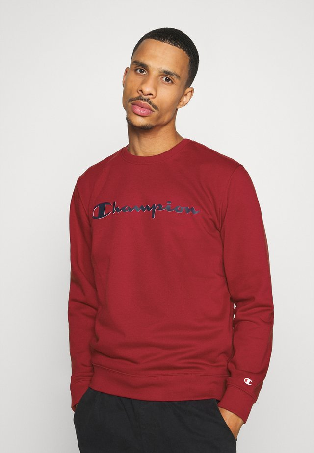 LEGACY CREWNECK - Sweatshirt - dark red