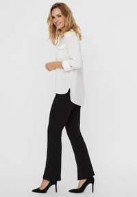 Vero Moda - Button-down blouse - snow white - 3